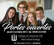 West Island College Fin 25 Octobre 2017