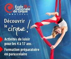 École nationale de Cirque Fin 31 Oct 2017