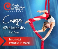 École National de Cirque Fin 30 Mars 2018